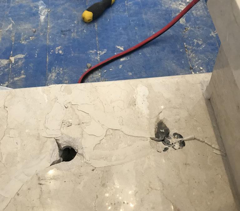 Damaged Marble Repair – Perth, WA